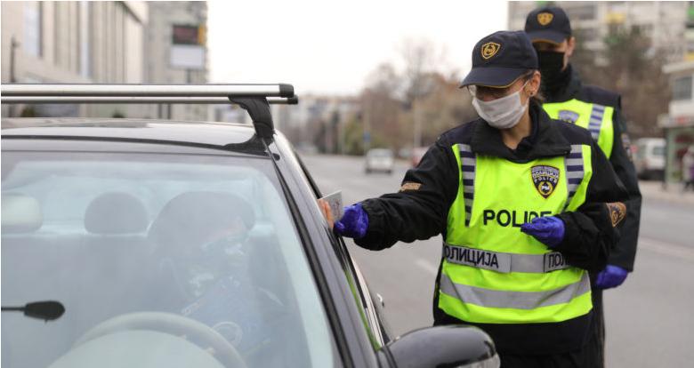 МВР: Во Скопје изречени 226 санкции – 19 лица возеле без возачка, четворица под дејство на алкохол