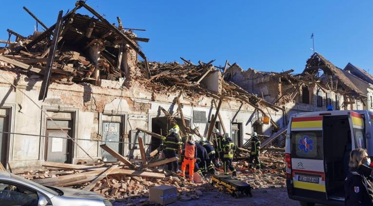 Нов земјотрес почувствуван во Петриња