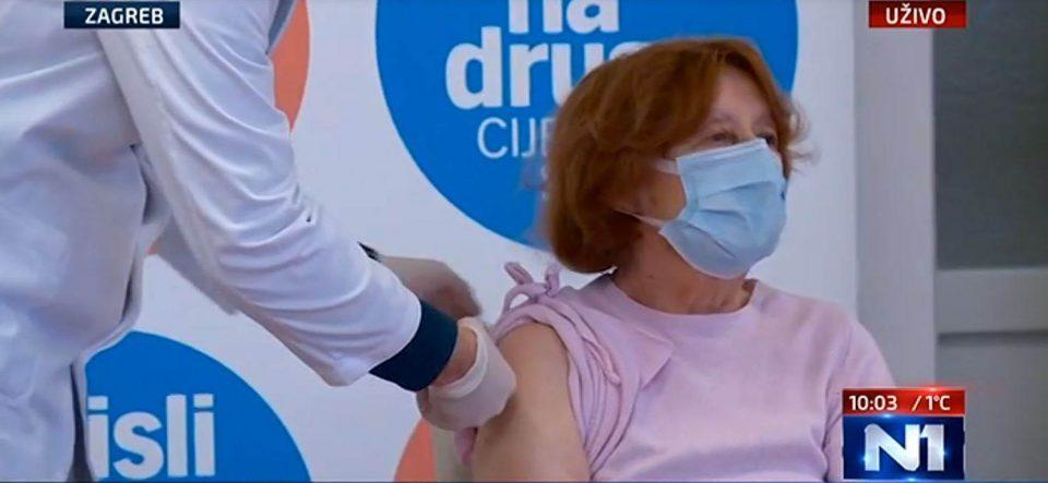 Во Хрватска досега вакцинирани 20.000 граѓани