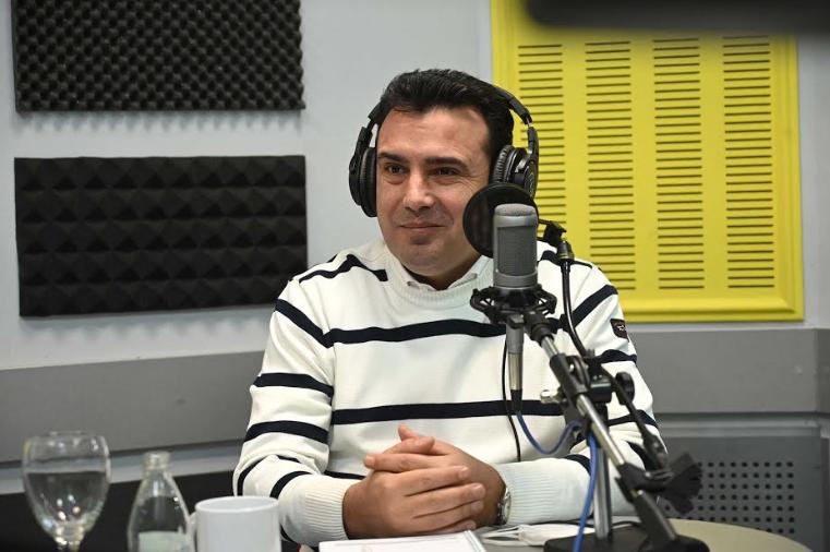 Заев: Интервјуто за БГНЕС беше дадено за да работи позитивно во Бугарија