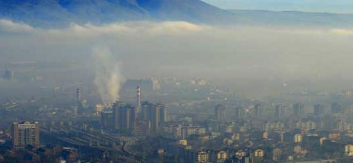 Синоќа најзагадено било во Лисиче