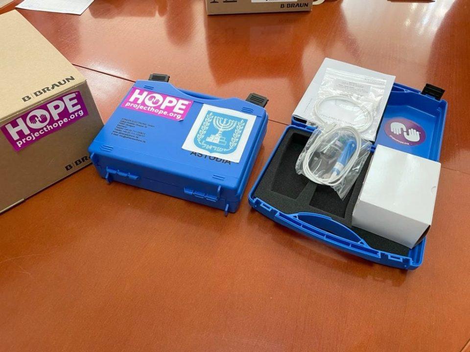 Израел донира апарати за критични новороденчиња на Детската клиника