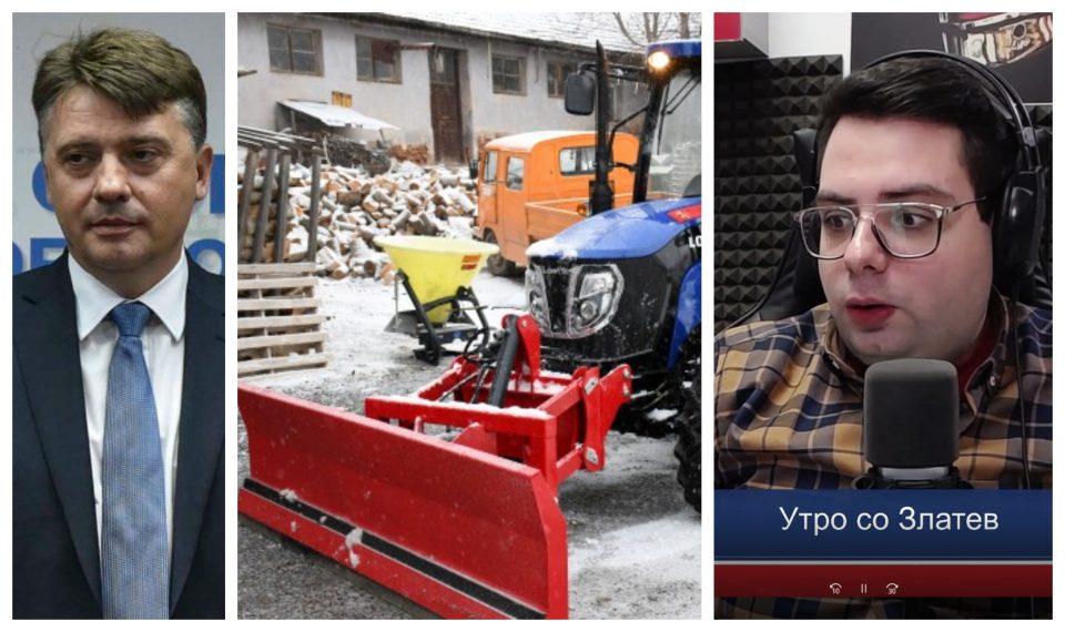 (ВИДЕО) Шилегов платил 1 милион евра за чистење на снегот кој не падна!