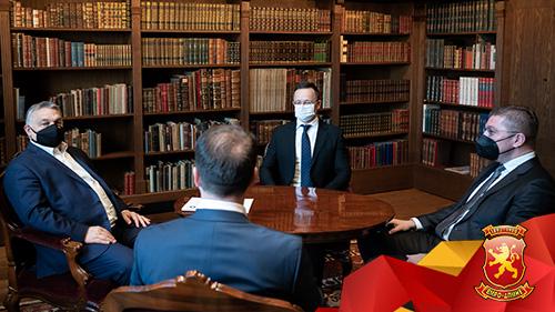 Мицкоски и Николоски на средба со Орбан и Сијарто во Будимпешта