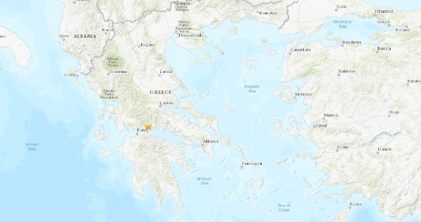 Грција: Четири земјотреси со јачина од над 4 степени регистрирани за помалку од еден час