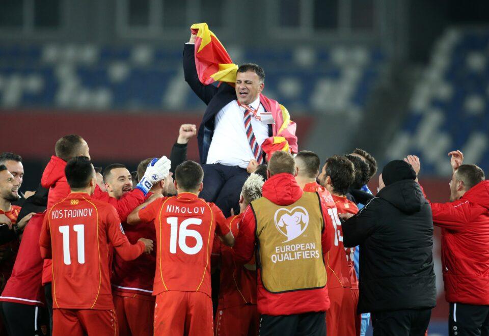 Ангеловски ќе ја предводи македонската фудбалска репрезентација на ЕП