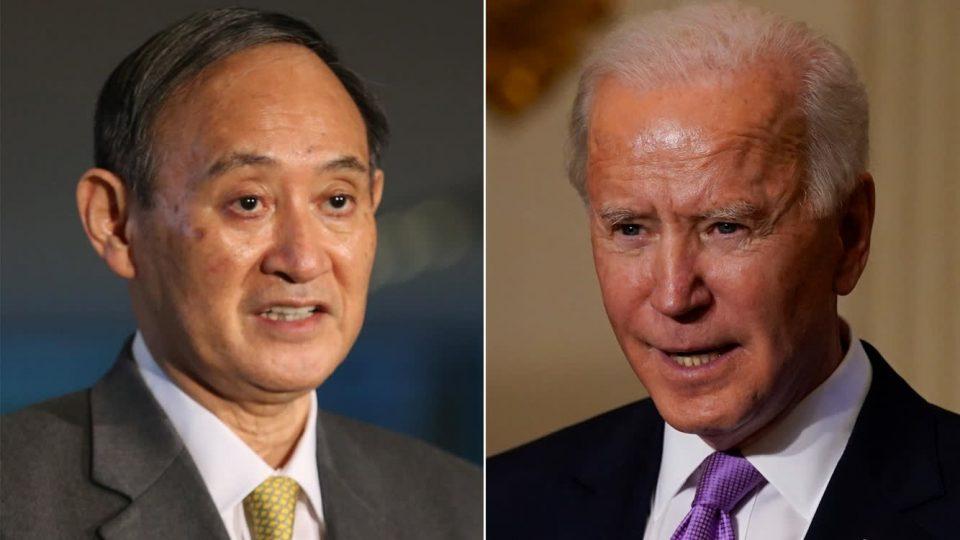 Телефонски разговор на Бајден и Суга за зајакнување на сојузот САД – Јапонија