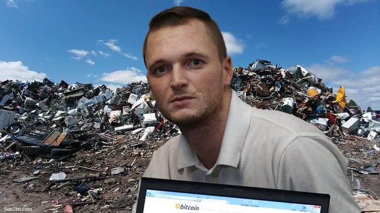(ВИДЕО) Фрлил хард диск со Биткоин вреден 280 милион долари, па потоа го барал во депонија