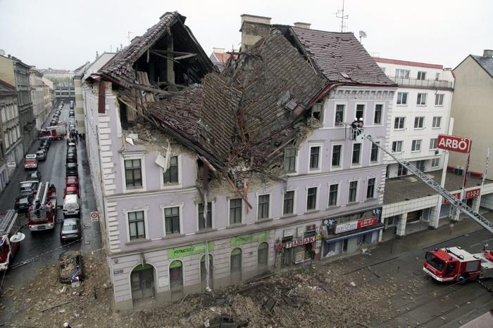 Детали за експлозијата во Австрија: Шест лица се повредени, едно се води како исчезнато