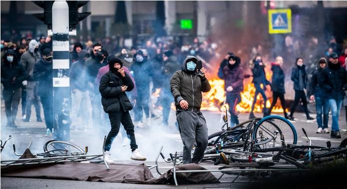 Белгија е загрижена дека немирите во Холандија може да ги охрабрат и Белгијците да протестираат