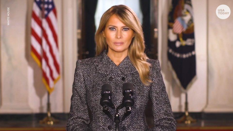 (ВИДЕО) Проштална порака на Меланија Трамп: Беше чест како Прва дама да им служам на Американците