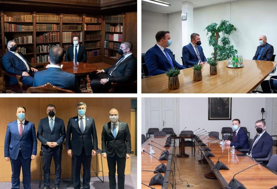 Додека ВМРО ДПМНЕ е во дипломатска офанзива, Заев е изолиран политичар кој пола година нема остварено ниту една билатерална средба