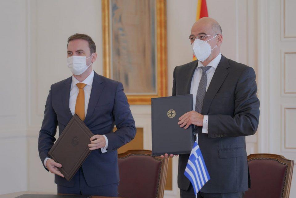 Османи – Дендиас: Македонија и Грција се стратешки партнери