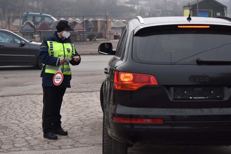 Фатени 18 лица без возачка дозвола во Ѓорче Петров