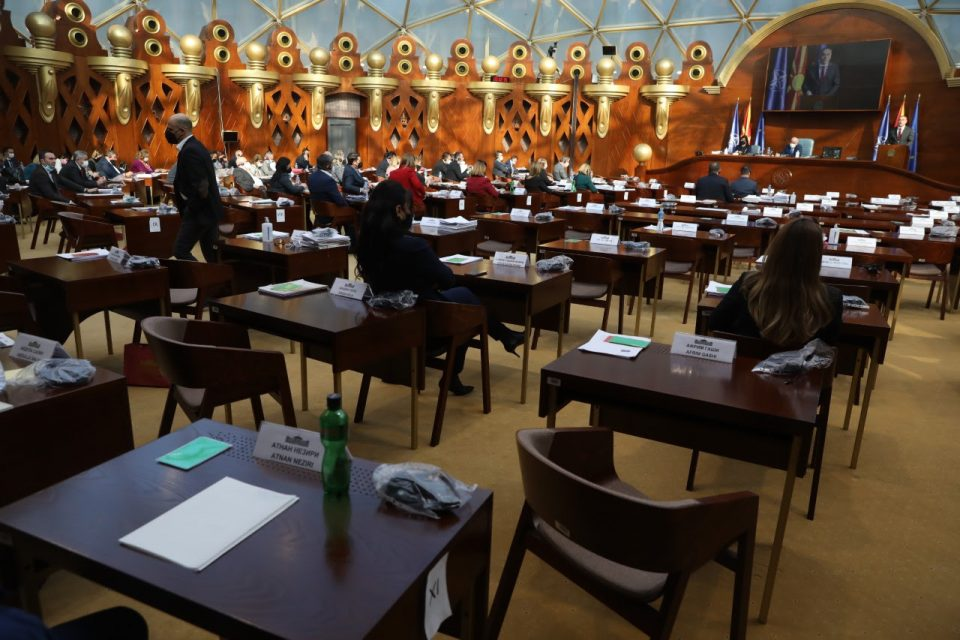 Коалицијата Алијанса/Алтерантива ја напушти седницата за пратенички прашања