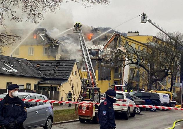 Силна експлозија во Виена – најмалку три лица повредени