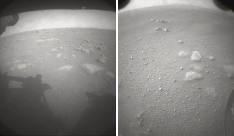 """Роверот """"Истрајност"""" слета на Марс, објавена и првата фотографија"""