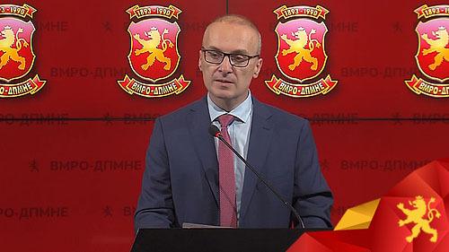 Милошоски: Османи може да го менува статутот на ДУИ, но не и македонскиот Устав