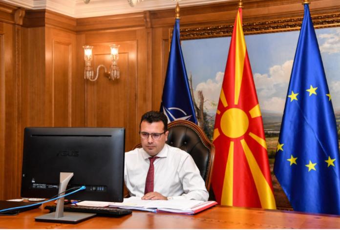 """(ВО ЖИВО) Заев на онлајн дебата со Атланскиот совет на тема """"Северна Македонија на прагот од Европа"""""""