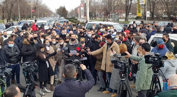 Угостителите денеска на протест пред Влада: Имаме забрана за дејноста, а и премала државна помош