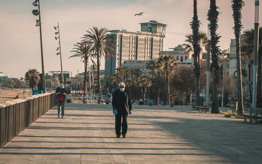 За 80 отсто помалку туристи во Шпанија