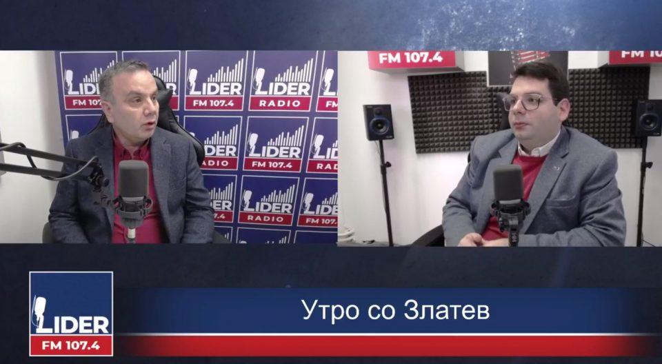 (ВИДЕО) Димитровски: За јазикот и идентитот не можете да преговорате без да направите црвена линија