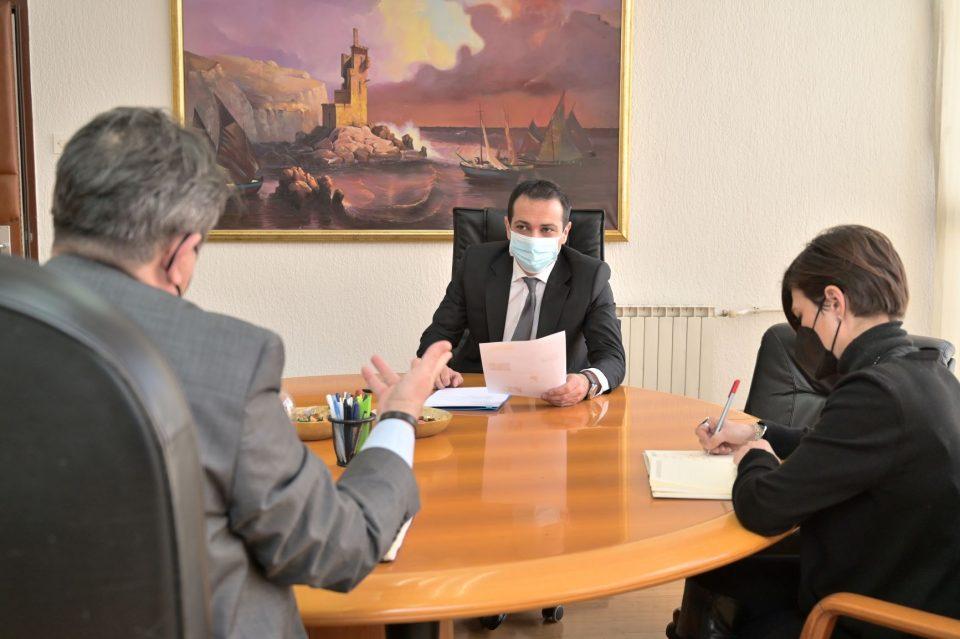 Бочварски и Макрадули се сретнаа за да кажат дека Пошта воведува нови услуги на пазарот