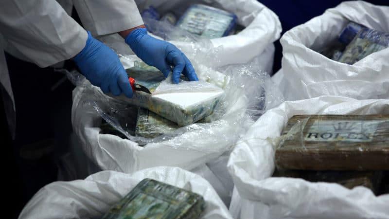 Во Италија запленети 1.300 килограми кокаин