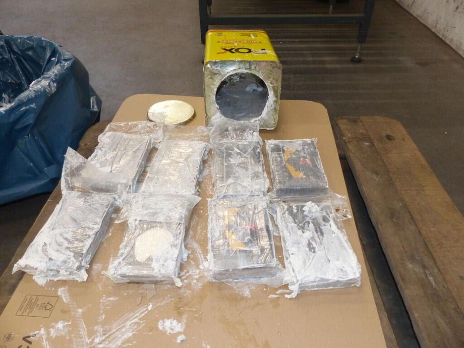 Запленета најголема количина кокаин досега во Европа