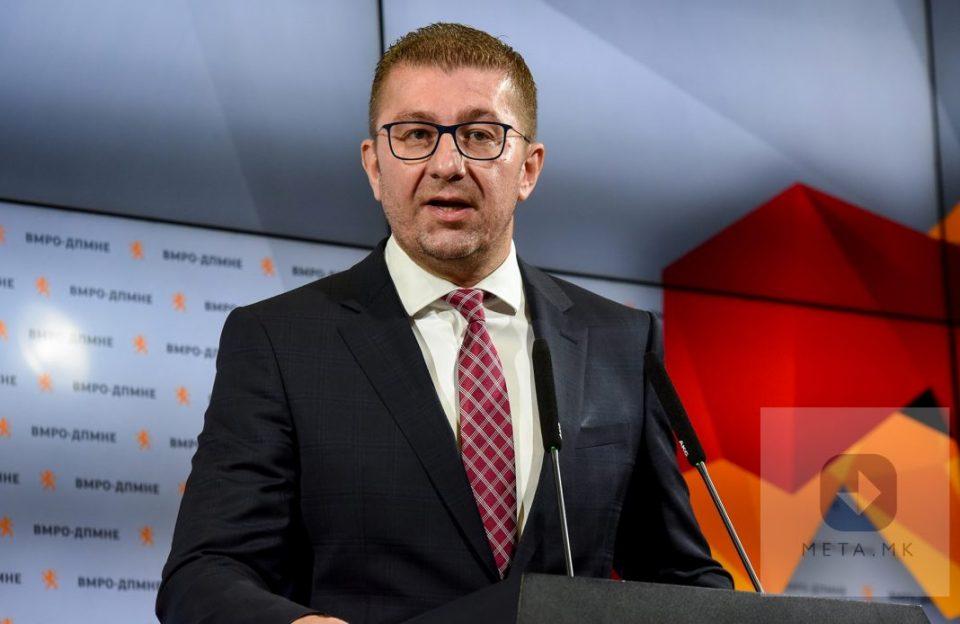 Мицкоски: Јас и сопругата имаме само македонски пасоши, ќе се борам за националните интереси