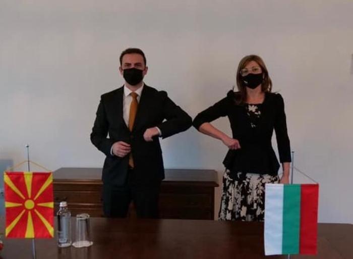 Османи од Софија: Со Захариева разговаравме за секторска соработка и одржување на состанокот на меѓувладината комисија