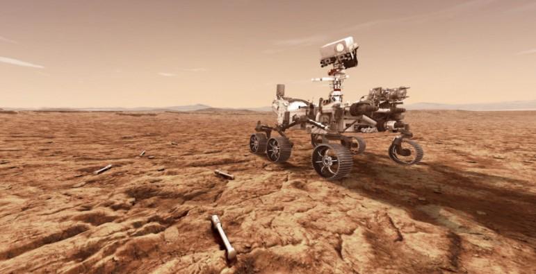 Роверот на НАСА денеска ќе слета на Марс во потрага по докази за живот