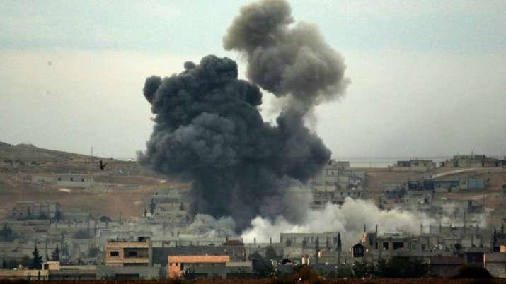 Уништени девет објекти при американскиот напад врз Сирија