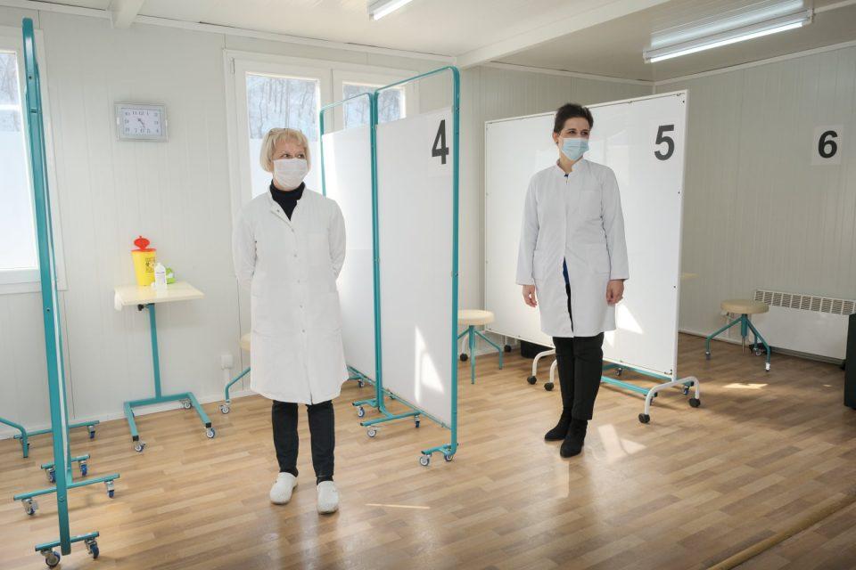Од среда вакцинирање со руски вакцини