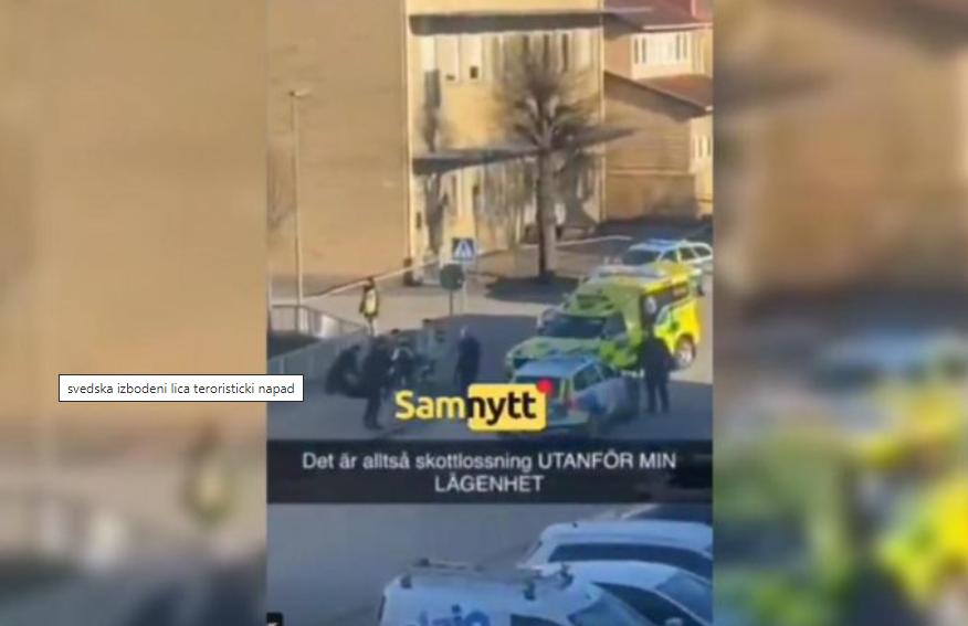 (ВИДЕО) Снимка од терористичкиот напад во Шведска – избодени најмалку 8 лица