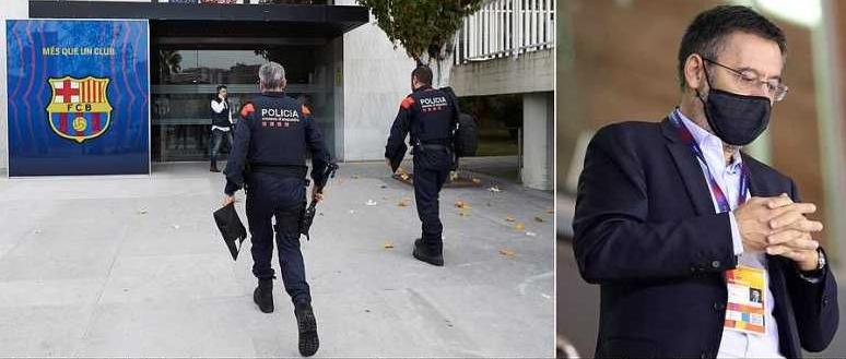 Уапсен поранешниот претседател на Барселона, Бартомеу