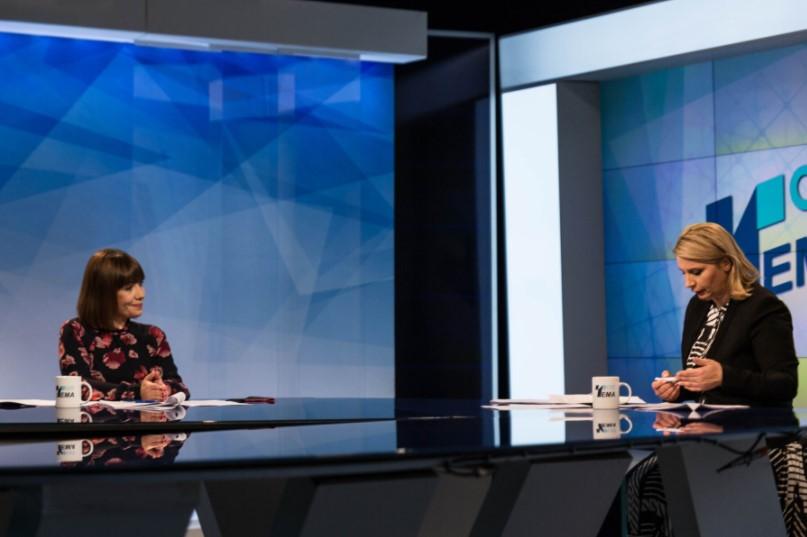 Царовска: Хибридниот модел на настава досега покажа одлични резултати, заштитувајќи го здравјето на учениците и наставниците