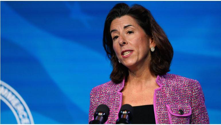 Џина Рајмондо е нов секретар за трговија на САД