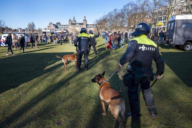 (ФОТО) Експлозија одекна во близина на центар за тестирање на Ковид-19 во Холандија