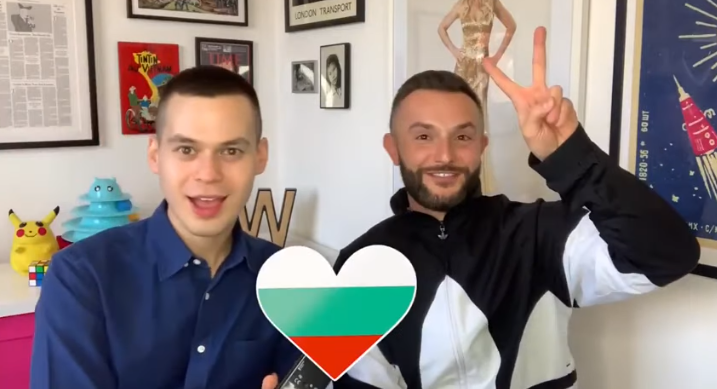 (ВИДЕО) Македонскиот претставник на Евровизија се пофали дека е бугарин по баба