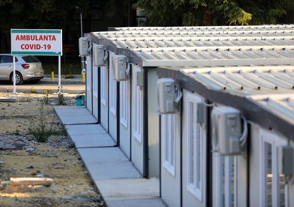 Во ковид центрите во Скопје за 24 часа хоспитализирани 28 пациенти