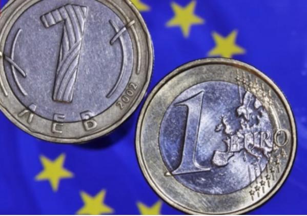 Бугарија планира да го замени левот со еврото на 1 јануари 2024 година