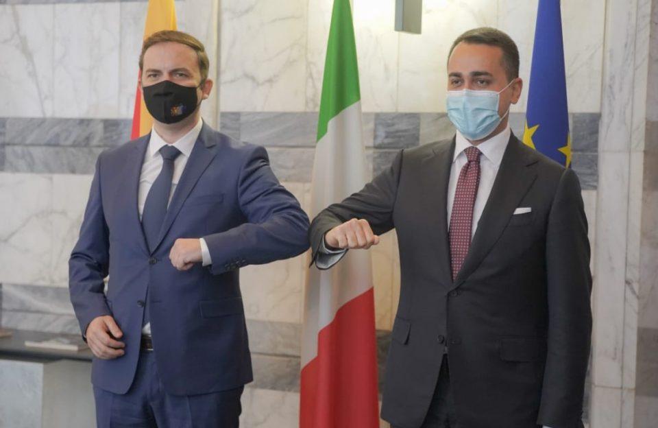 Османи на средбата со Де Мајо: Веќе имаме видливи резултати во борбата против криминалот и корупцијата