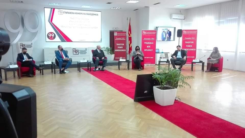 Азески: Собранието да не ги кочи економските закони