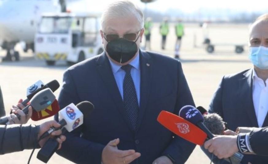 Баздникин: Прво ќе се вакцинираат граѓаните на Македонија, а потоа ние од амбасадата