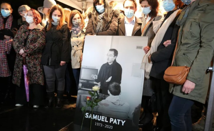 Убиениот француски професор Самуел Пати бил жртва на детска лага