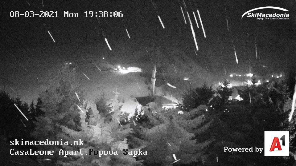 Врнежи од снег на Попова Шапка