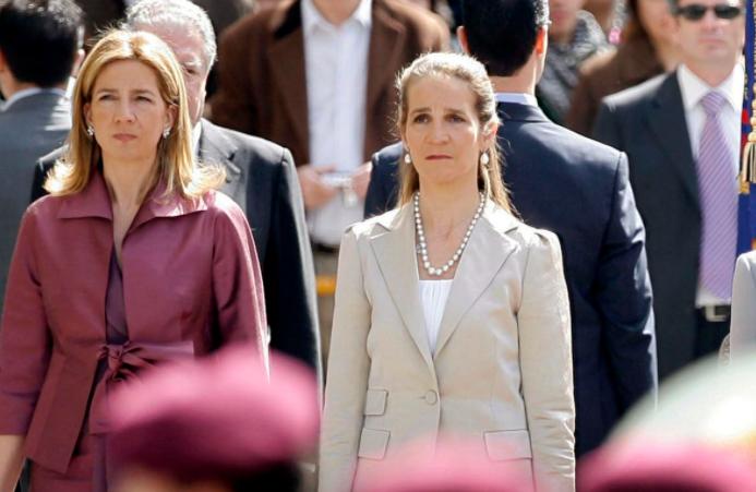 Вакцинирањето на шпанските принцези Елена и Кристина ги разгневи Шпанците