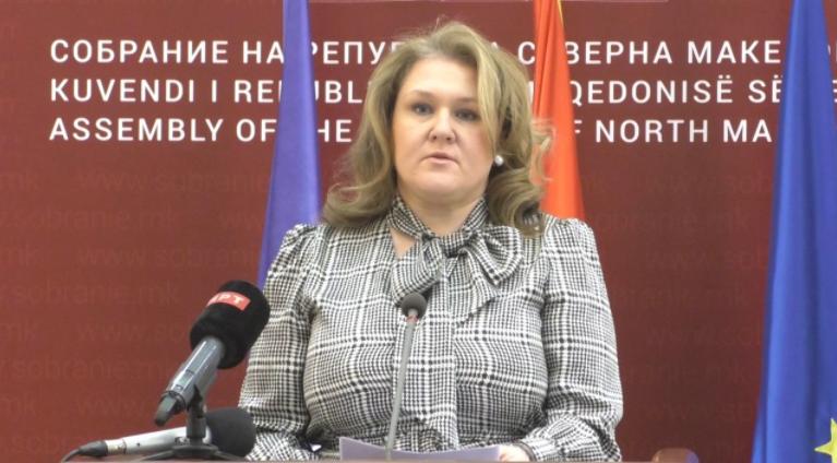 Петровска: Законот за поништување на законот за попис на ВМРО-ДПМНЕ е политичка манипулација