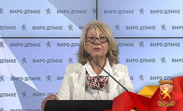 Ристова Димова: СДСМ малтретира вработени во јавниот сектор што мислат поинаку од власта